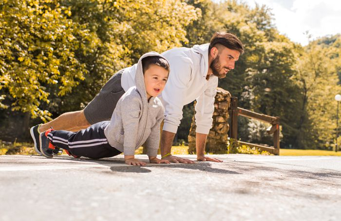 GettyImages-Father-Son-Exercise-ParentsTalks