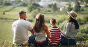 parents-with-their-children-walking-forest-indian-parents-talks
