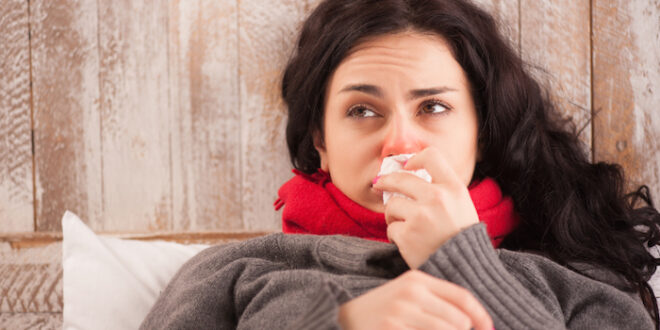 Cold Cough Girl