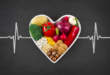heart shape food Lower Cholesterol With Diet